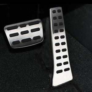 DAEFAR Car Pedal Pad Cover for Kia Sorento KX5 K5 Optima Sportage QL for Hyundai Sonata I40 Tucson Santa Fe IX35 Ceed MT AT(China)