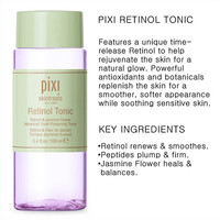 Pixi Facial Toner Retinol Tonic Rose Lotion Moisturizing Anti-wrinkle Firming Soothing Brightening Fine Lines Tonic For Women 2