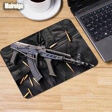 Mairuige The cool Guns broń wzór podkładka pod mysz dostosowana wygodna guma antypoślizgowa mata na stół pc do dekoracji tabletop