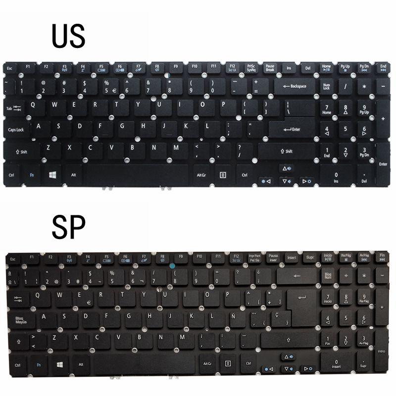 NEW US/SP LAPTOP KEYBOARD FOR ACER Aspire M3-581 M5-581 581T 581G V5-531 531G 551 551G 571 571G 571P 531P