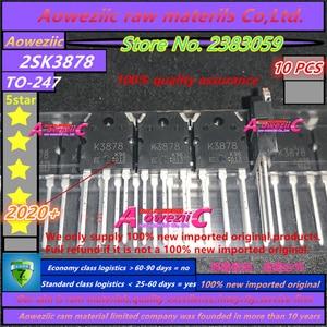 Image 1 - Aoweziic 2020 + 100% 신규 수입 원본 K3878 2SK3878 TO 247 N 채널 MOS 유형 스위칭 레귤레이터 애플리케이션 9A 900V