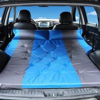 Carro inflável cama suv colchão de carro linha traseira do carro viagem almofada de dormir fora de estrada cama de ar esteira de acampamento colchão de ar acessórios de automóvel Cama de viagem p/ carro     -