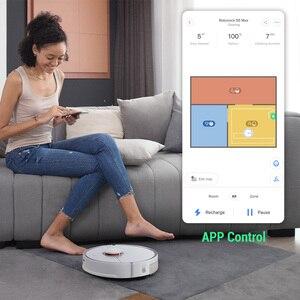 Image 4 - Roborock s5max ロボット掃除機グローバルスマート計画ルート app 制御ワイヤレス/コードレス家庭用自動スイープとモップ