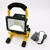 2400LM LED Portable Spotlight Camping Light Searchlight Rechargeable Handheld Work Light Portable Lantern