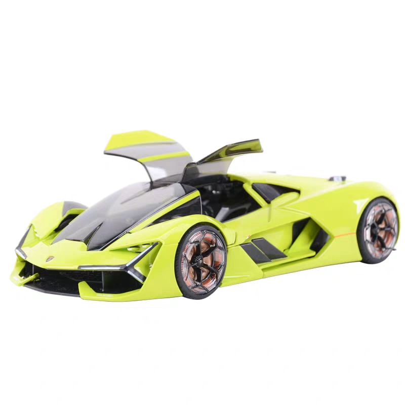 Burago 1:24 Simulated Metal Car Model Toy For Lamborghini Terzo Millennio Diecast Sport Car Model Toy Collection For Man Gfit