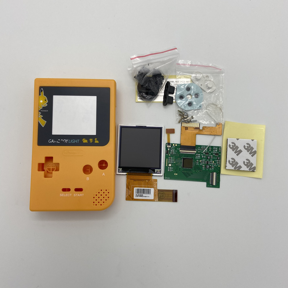GBP High Brightness LCD And New Shell For Gameboy Pocket,GBP LCD Screen