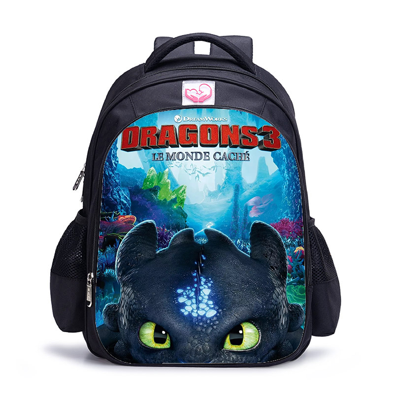 16 Inch Catoon How To Train Your Dragon 3 Children School Bags Orthopedic Backpack Kids School Boys Girls Mochila Infantil Bags