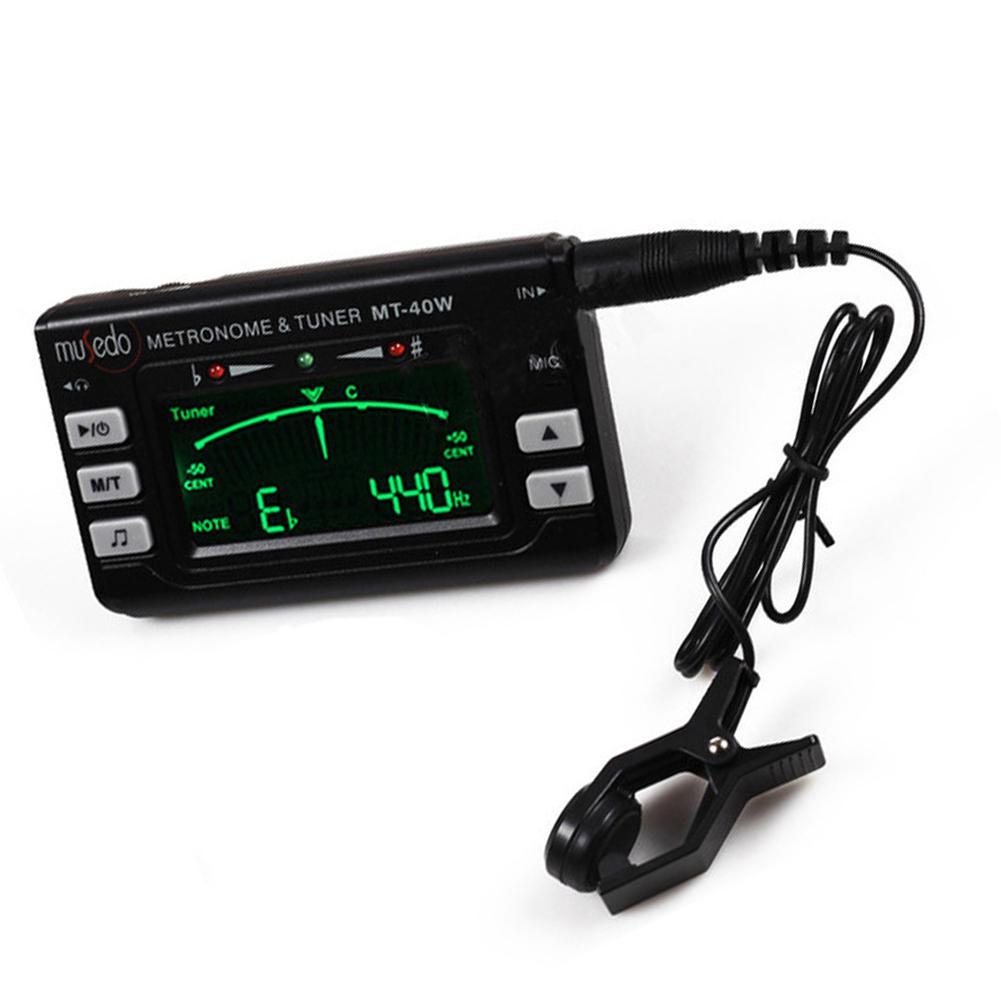 Metro-tuner & Tone Generator Electronic Digital LCD 3 In 1 LCD Clarinet Saxophone Tuner/Metronome/Tone Generator