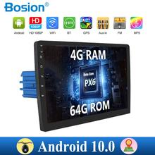 4G RAM car multimedia player 1din android 10.0 car radio for universal car gps navigation BT FM AM RDS wifi camera swc map