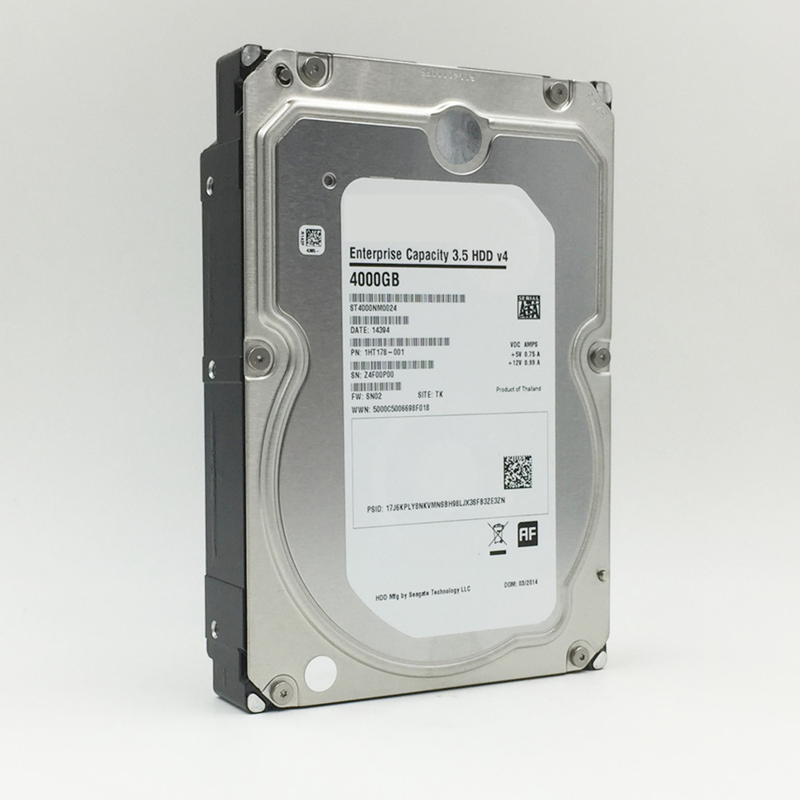 """New HDD For Seagate Brand 4TB 3.5"""" 7.2K SATA 6 Gb/s 128MB 7200RPM For Internal HDD For Enterprise ClassHDD For ST4000NM0024 3"""
