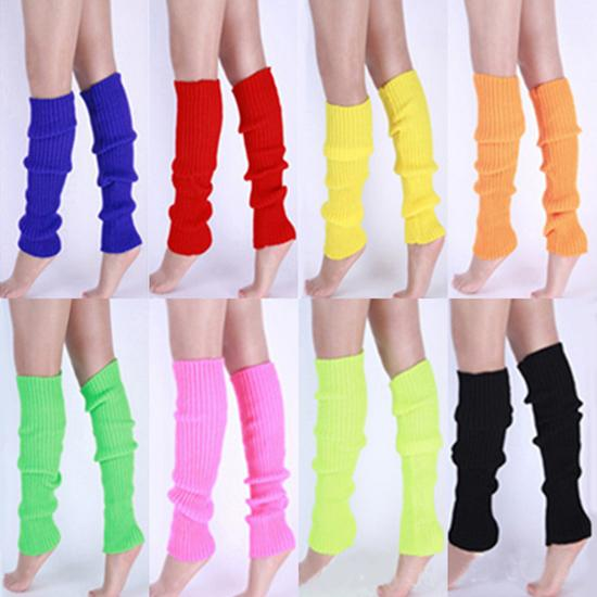 Women Solid Candy Color Knit Winter Leg Warmers Loose Style Boot Socks socks hunter Christmas Gift cuissardes plates femme 2020