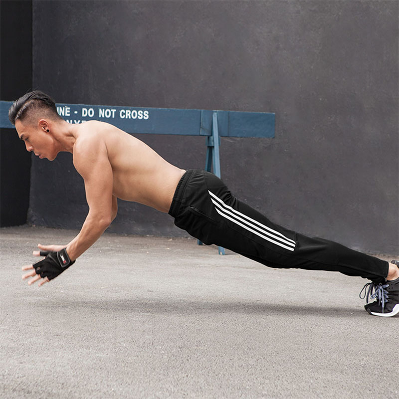 Sports Pants Men Autumn Winter New Loose Casual Zipper Pockets Running  Football Training Pants Elasticity Jogging Gym Trousers