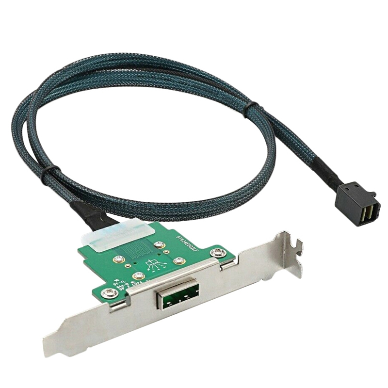 ELEG Server Transmission Cable Sff 8088 To Sff 8643 Computer Hard Disk Data Cable