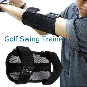Golf Swing Training Aid Elbow Support Corrector Wrist Brace Practice Tool Golf Training Aids Golf swing posture corrector