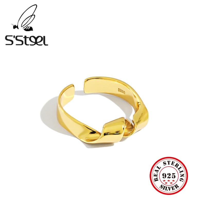 Купить женское кольцо из серебра 925 пробы в минималистическом стиле