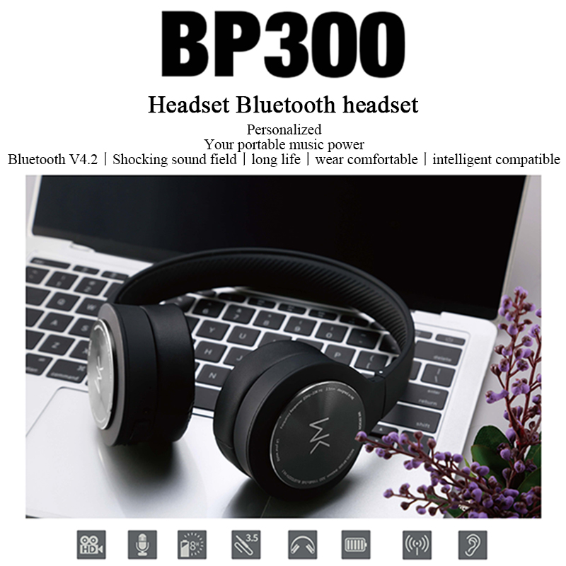 REMAX Drahtlose <font><b>Kopfh</b></font>ö<font><b>rer</b></font> Bluetooth4.2 Headset Stereo Noise Cancelling Über Ohr Faltbar image