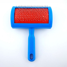 Pet Cat Dog Hair Professional Grooming Slicker Dog Comb Gilling Brush Steel Needle Brush Clean Tool Blue Pet Accessories S M L чехол клип кейс samsung для samsung galaxy a5 2017 amy classic золотистый gp a520kdcpbaa