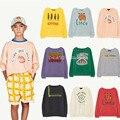 EnkeliBB 2021 SS TAO Kinder Mode Sweatshirt Lose Oversize Stil Kinder Marke Top Casual-Style Kind Junge Mädchen Langarm top
