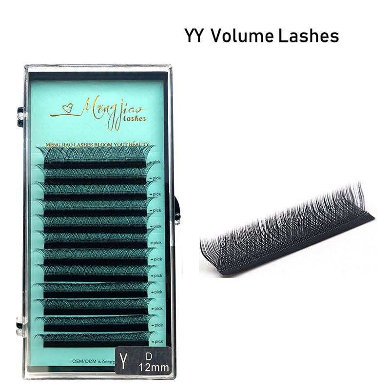 M&J YY Eyelash Extension Pre Made Volume Fans Eye Lashes 3D Eyelash Bundles Eyelash Natural Eyelashes Extension Lashes Mix   Mix