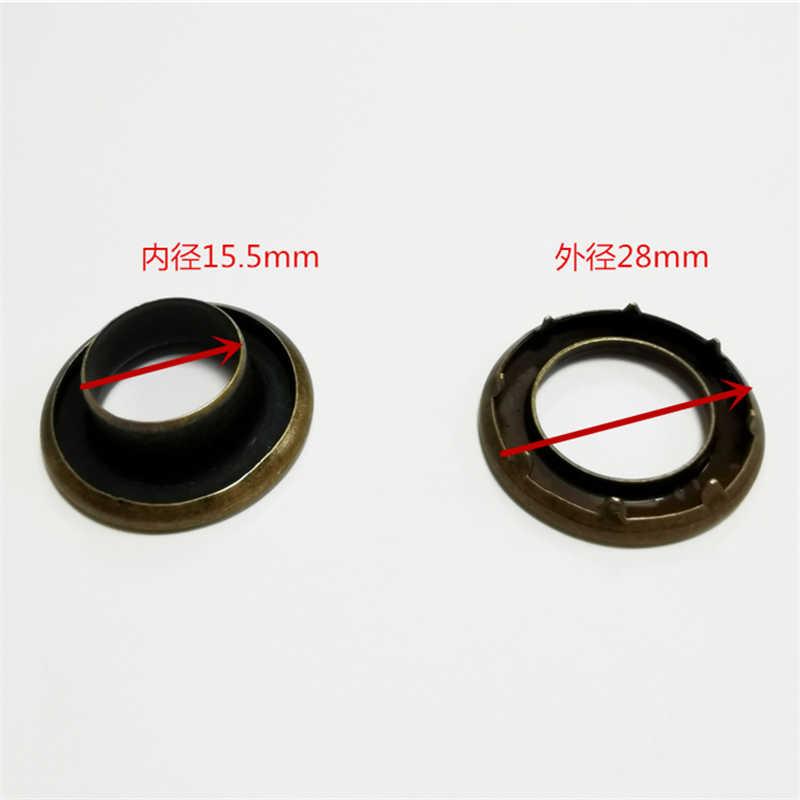 28-15-5-MM-Brass-material-heavier borde enrollado más duro con 6 pinzas en la junta 2 piezas 13 MM diámetro interior