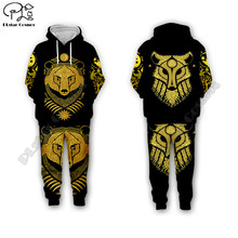 men for women Viking tattoo 3d all ove Printed Set hoodie Unisex streetwear hip hop Tracksuit Cosplay costumes style-8