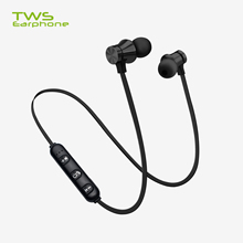 Magnetic Wireless Bluetooth Earphone Handsfree Headphones Stereo Sports Waterproof Earbuds Wireless Headset with Mic for Xiaomi sports super bass wireless headphones bluetooth earphone with mic hifi stereo bluetooth headsets for phone headset gamer xiaomi