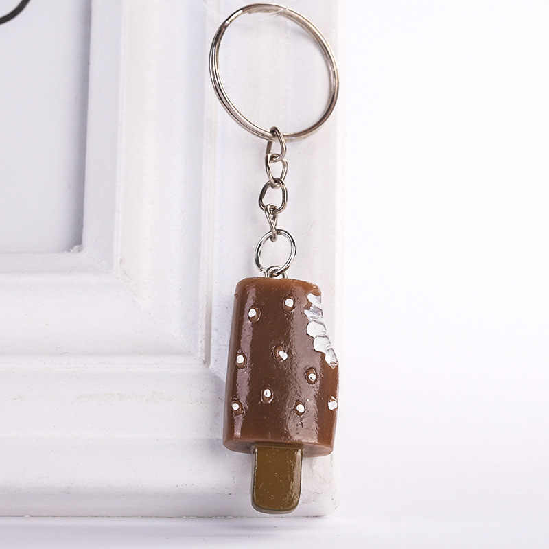 Ice Cream Portachiavi Portachiavi Holder Pendenti e Ciondoli Ornamenti Ciondolo Per Il Sacchetto Delle Donne Del Sacchetto Auto Accessori Dei Monili