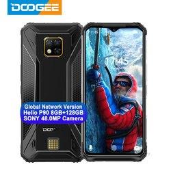 IP68/IP69K DOOGEE S95 Pro Helio P90 octa core 8GB 128GB modułowe wytrzymały telefon komórkowy 6.3 cal wyświetlacz 5150mAh 48MP Cam Android 9 w Telefony Komórkowe od Telefony komórkowe i telekomunikacja na