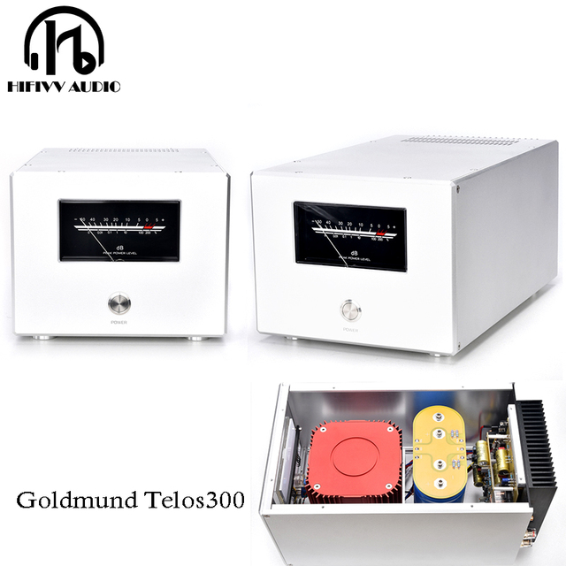 400W 400VA * 2 Hifi Hi End Class Aเครื่องขยายเสียงHome Audio System 1CHหรือ2CHแยกdual Mono Pureโพสต์AMP 408*240*180มม.