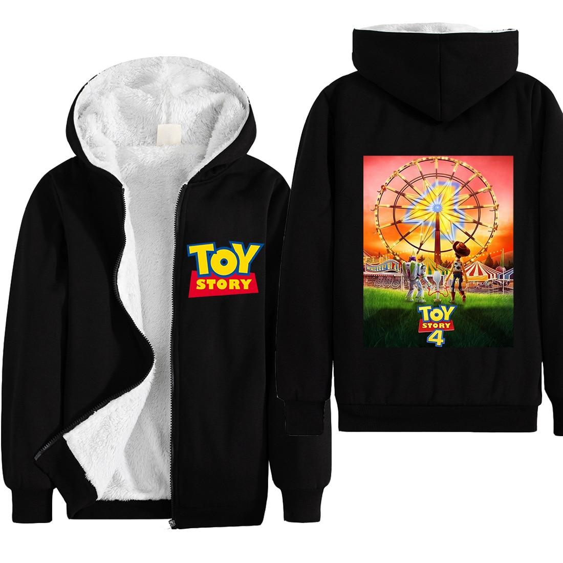 Buzz Lightyeerr Hoodies Cosplay Sweatshirt Zip up Jacket Coat Pullover Costumes