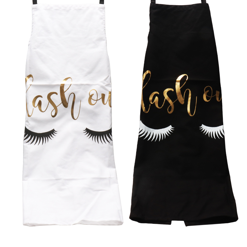 Купить бронзирующий кухонный фартук с узором для ресниц женщин и взрослых
