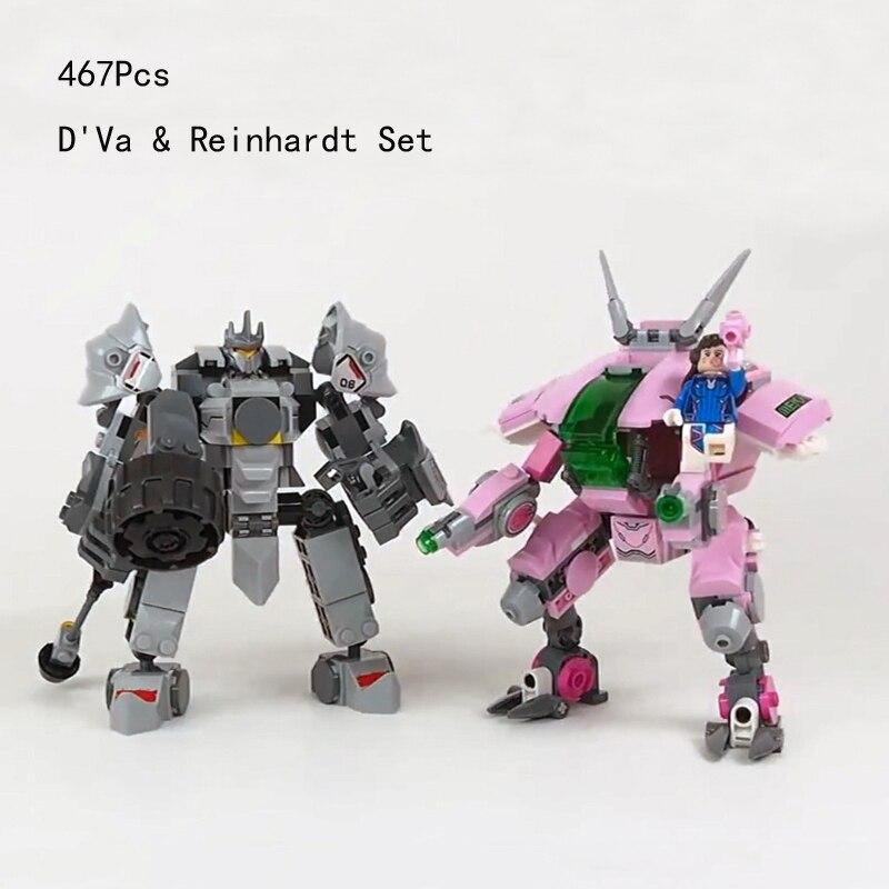 New Overwatche Video Games Bricks Wrecking Ball Soldier Shimada Hanzo Set widowmaker figures building Lepine Blocks Mini Toys 1