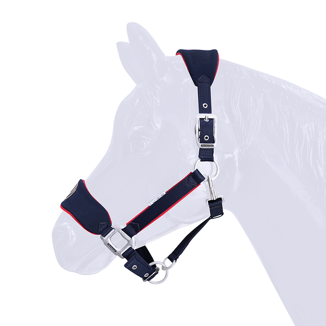 Soft & Adjustable Bridle Anti-wear Horse Halter - High-quality - Sturdy Equestrian Equipment  3