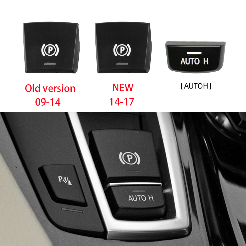 Автомобильная лампа тормоза P кнопка переключателя Крышка для BMW 5 7 F01 F02 F07 F10 F11 F18 F30 520 523 730 2009-2017