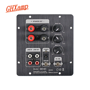 Image 1 - GHXAMP 2.1 Subwoofer Speaker Amplifier Board TPA3118 Audio 30W*2 +60W Sub AMP With Independent 2.0 Output