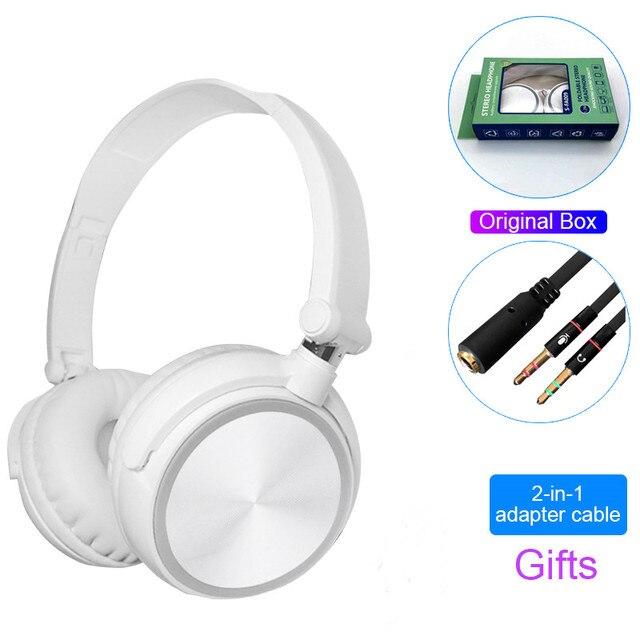 Écouteurs filaires HIFI stéréo PC, 3.5mm, casque de musique Gamer, micro HD, pour mobile, xiaomi, iphone, samsung, ordinateur portable, tablette