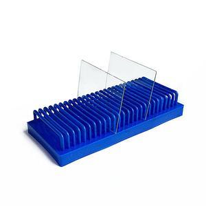 Image 3 - Rechteck Typ Rutsche Ablauf Rack WB Protein Elektrophorese Gel Glas Platte Trocknen Halter Schule Bildung labor Ausrüstung