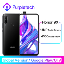 Global Version Honor 9X Smartphone 6G128G Not 9Pro 48MP Triples Cam 6.59'' Mobile