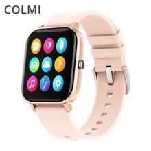 Colmi p8 pro relógio inteligente masculino toque completo rastreador de fitness ip67 à prova dip67 água chamada lembrete smartwatch