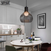 Nordic simple dining room birds droplight American country study corridor bedroom chandeliers creative personality led pendant
