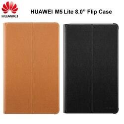 Оригинальный чехол для планшета HUAWEI MediaPad M5 Lite 8,0 дюйма, откидной Чехол из искусственной кожи с подставкой, чехол для Huawei M5 Lite 8,0 дюйма