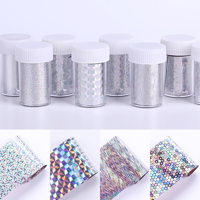 1 Sheet Nail Foil Stickers