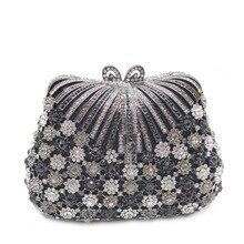 Womens Handbags Purse Bridal-Shoulder-Bag Rhinestone Crystal Female XIYUAN New