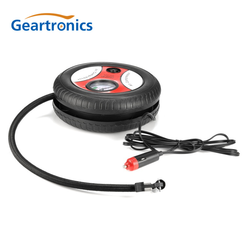 Car Air Pump 260PSI DC 12V Auto Pump Portable Electric Mini Tire Inflator Air Compressor Dropship