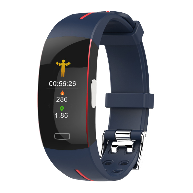 ECG+PPG <font><b>Smart</b></font> Wristband <font><b>P3</b></font> Color Display Heart Rate Blood Pressure Monitor <font><b>Smart</b></font> <font><b>Band</b></font> Bracelet IP67 Waterproof Fitness Tracker image