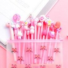 цена на 10Pcs/Set Gel Pen Unicorn Pen Stationery Kawaii School Supplies Gel Ink Pen School Stationery Office Suppliers Pen Kids Gifts