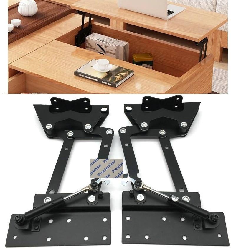 1pair Lot Pneumatic Soft Folding Coffee Table Lift Up Mechanism Tea Table Parts Pop Up Laptop Table Top Lifting Bracket Table Parts Table Lift Mechanismcoffee Table Lift Mechanism Aliexpress