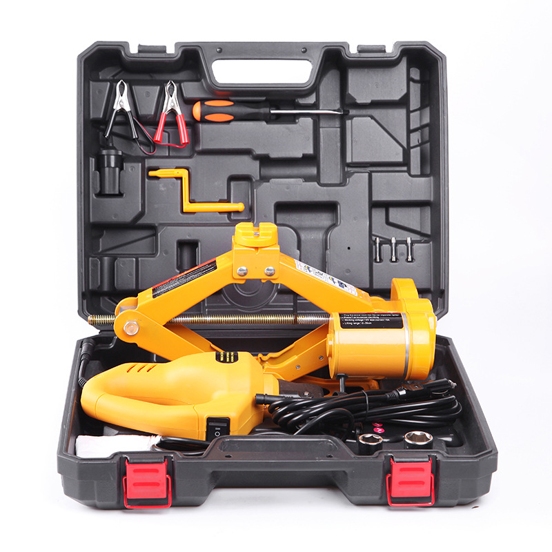 Lifting Jack Car Mounted Equipment 12 V Electric Wrench Tool Electric Hydraulic Jack Automobile Maintenance & Repair Tools