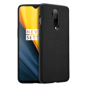 For Oneplus 7 Pro Case Carbon Texture Leather shockproof Ultra Thin Back Cover For Oneplus 7T Pro 6T 6 Case One Plus Cover Capa(China)