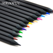 Ensemble de Crayons de couleur à l'eau pour enfants, 12 pièces/lot, Crayons multicolores Kawaii pour bricolage, peinture Graffiti, fournitures d'art, papeterie pour étudiants